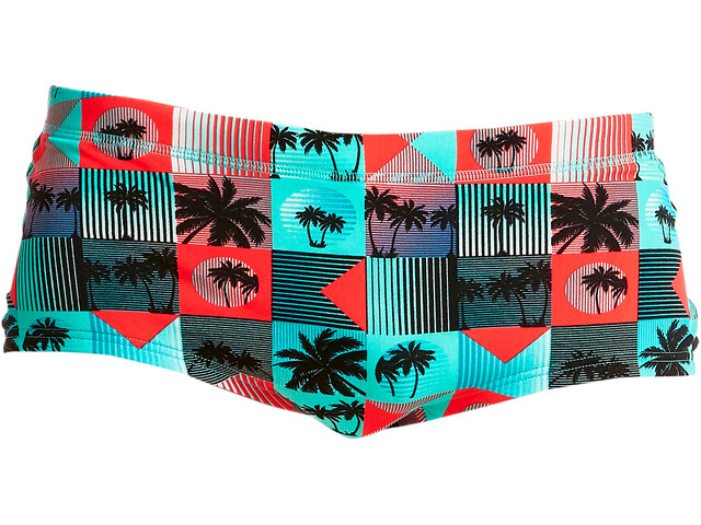 Funky Trunks Plain Front Bañador Hombre, sunset strip